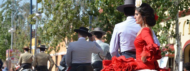 Solteros a la Feria de Sevilla