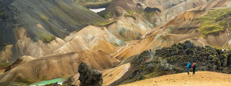 Trekking del Landmannalaugar