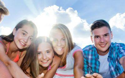 Singles con adolescentes en la Costa Brava
