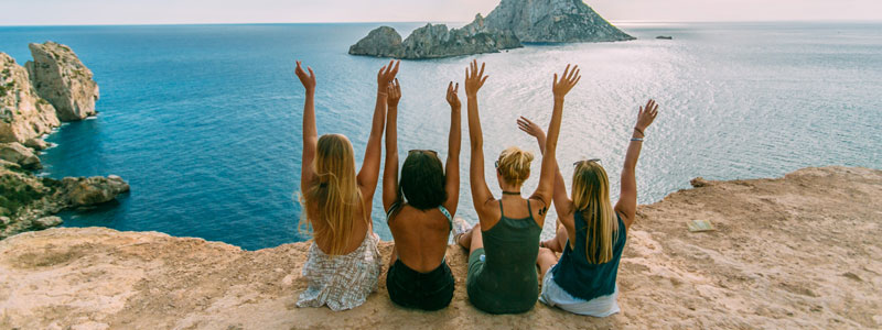 Vacaciones Singles en Ibiza